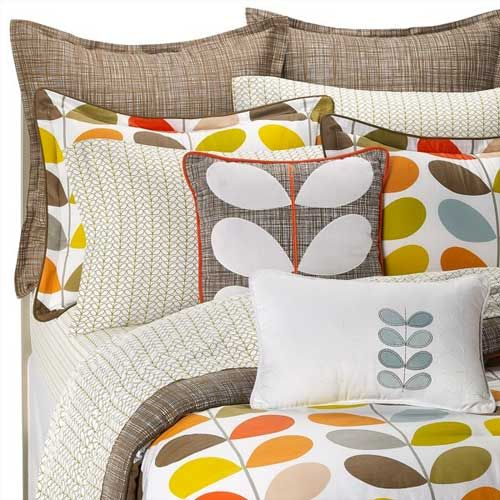 Orla Kiely for Bed, Bath and Beyond: This is what I want our bed to look like!!! <3 <3 <3