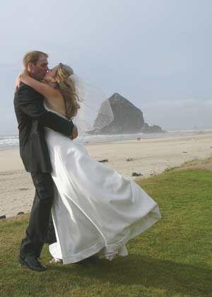 Cannon Beach wedding.
