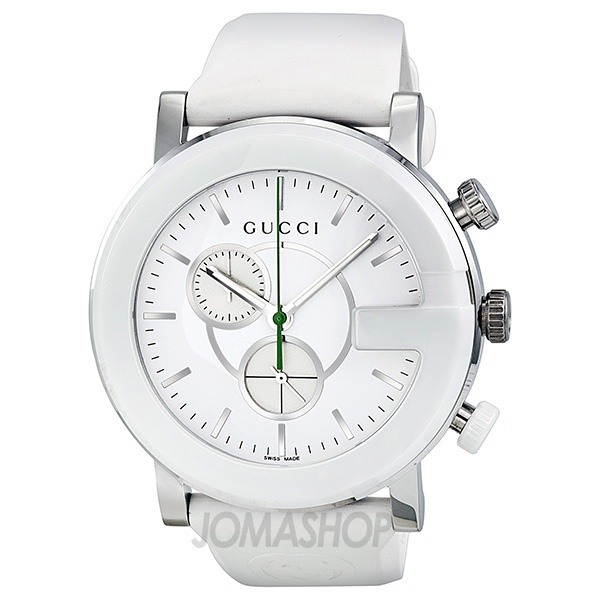 white strap timeless men watches chronograph g s ladies rubber dial watch on best mens female images pinterest jomashop gucci