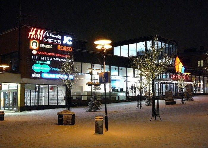 Chydenia Shopping Center. #kokkola