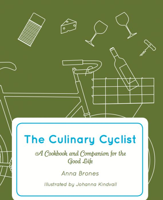 Bicycle Picnic: Great tips and recipes for food that travels well on a bike. The Culinary Cyclist by Anna Brones. #velojoy
