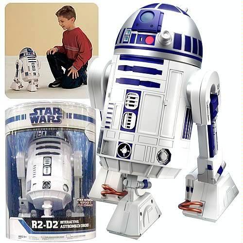 r2d2 toys | R2D2 Interactive Droid Robot – Hasbro R2D2 Droid Robot