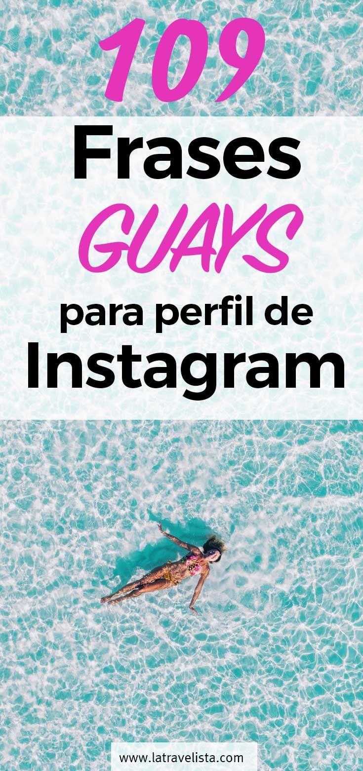 109 Frases Chulas Para Perfil De Instagram Graciosas Y