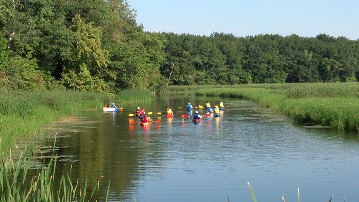 """Kayaking is growing in popularity and with it, opportunities to take part in programs at many of our state parks.  The Pike Lake unit, for example, holds """"Kayak with the Naturalist"""" events on the Oconomowoc River through the Loew Lake Unit."""