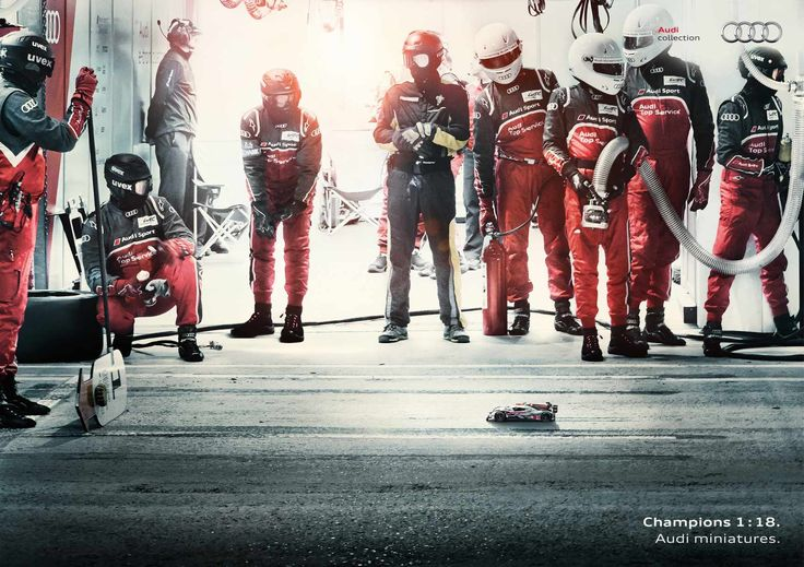 Audi: Audi Miniature Champions - Training Day