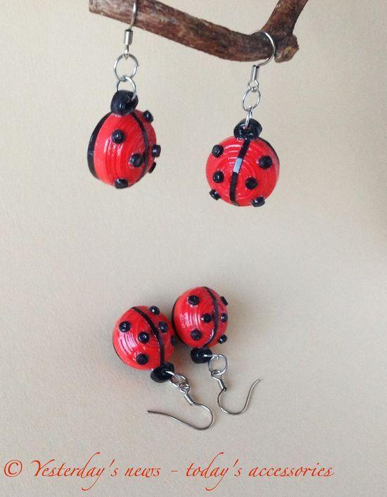 Ladybug earings