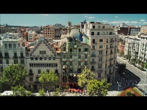 This is the most magical thing I have ever seen on YouTube. Just watch it, you won't be sorry.  ▶ LOVE Casa Batlló - YouTube
