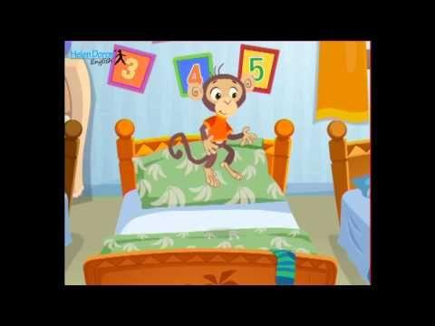 Five Little Monkeys - English Songs for Kids