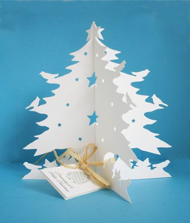 White Christmas Trees Pinterest