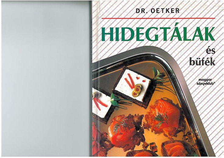 Dr oetker hidegtalak es bufek 1995