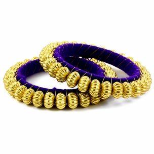 Meenakshi Bangle Set http://blossomboxjewelry.com/db17.html #indian #jewelry #churiya #bangles #armcandy