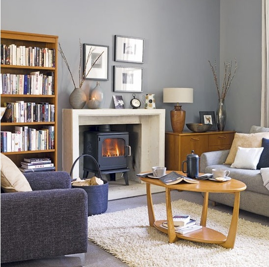 Blue Grey Living Room Ideas And Rooms Design Image