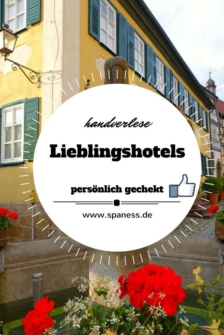 Unterwegs mit SPANESS - hier zeigen wir euch unsere Lieblingshotels - handverlesen & persönlich gecheckt!