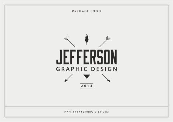 Premade Logo | Logo di fotografia | Marchio di affari | Logo Design | Small Business Logo | Logo Vintage | Hipster Logo | Filigrana | Branding