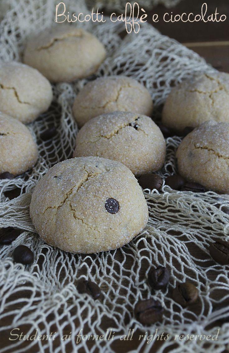 #biscotti morbidi al #caffè e #cioccolata