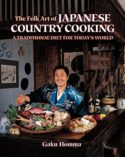 The Folk Art of Japanese Country Cooking A Traditional Diet for Todays World ** Details can be found by clicking on the image.Note:It is affiliate link to Amazon. #blue
