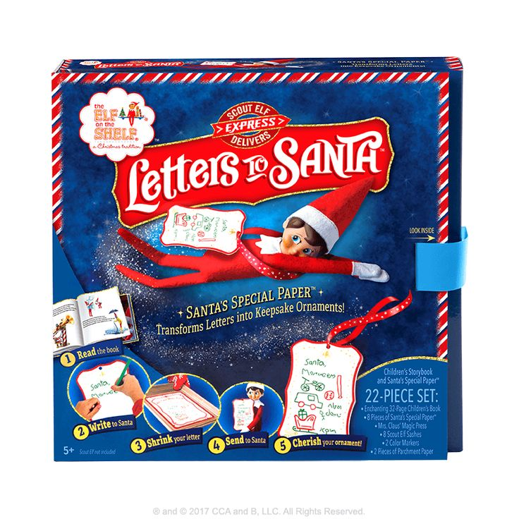 Scout Elf Express Delivers Letters to Santa® Santa