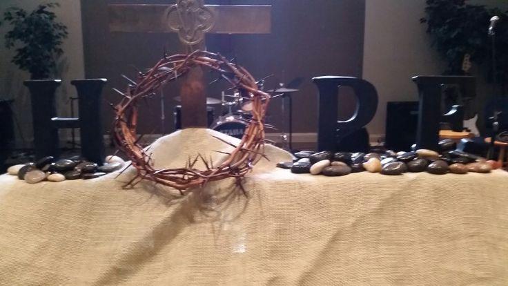 """Altar """"Hope"""" - CUMC"""