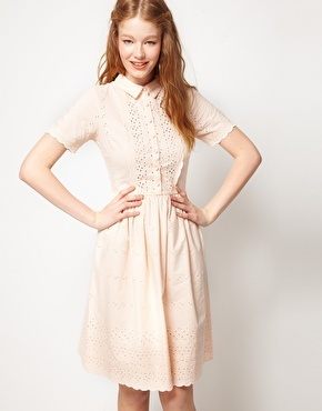 Enlarge ASOS Shirt Dress In Embroidery