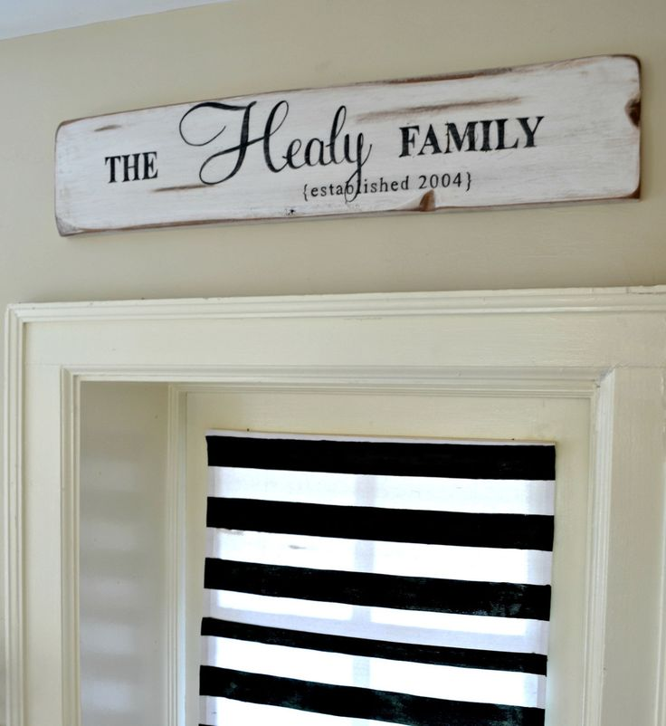 Rustic Family Established Sign {customizable} - Aimee Weaver Designs