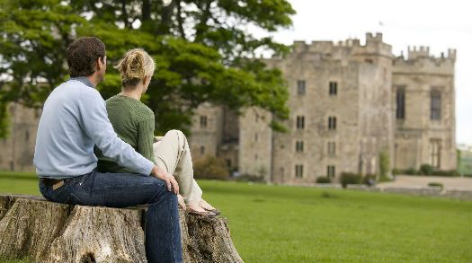 Raby Castle in the Durham Dales