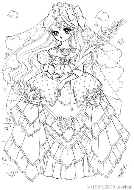 free coloring page princess