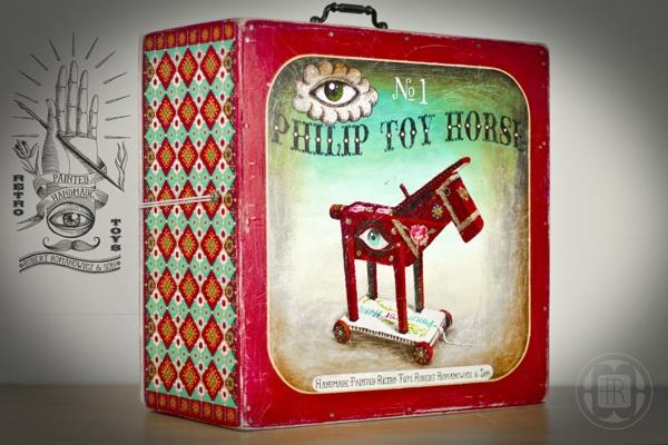 *NEWS!!! - Horse* by Robert Romanowicz, via Behance