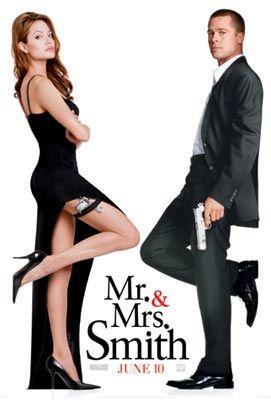 Jolie and Pitt: Film, Big Bang, Smith 2005, Mr And Mrs Smith, Angelina Jolie, Favorite Movies, Brad Pitt