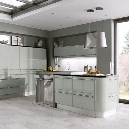 22 best High Gloss Kitchen Doors images on Pinterest Kitchen