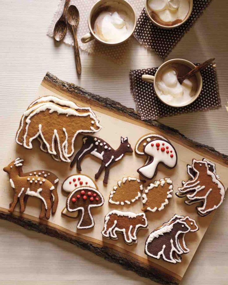 Dark-Chocolate Cutout Cookies