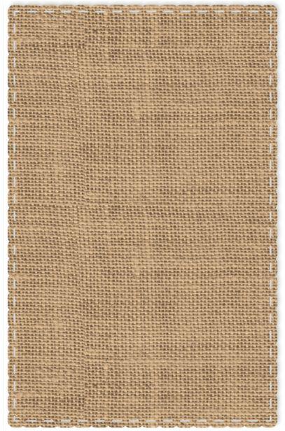 Free-printable Stitched burlap