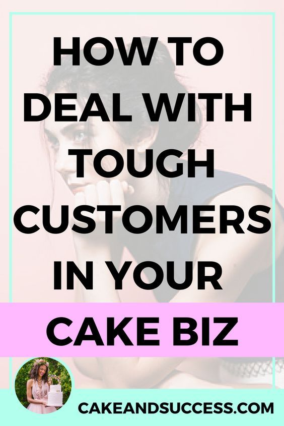 Not sure how to handle difficult and tough customers in your cake business? Trust me, I've had my fair share! Here's how to handle these types of clients in your cake business.  Cake pricing, cake tastings, cake consultations, cake studio, wedding cakes, gum paste, sugar flowers, Maggie Austin, Cake Decorating Tutorial, Cake Business, Craftsy Cake, Fondant, Cake Storefront, baking business, cake serving guide, cake storage, cake organization, cake presentation