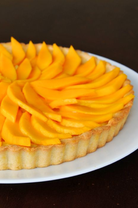 rachelcooksthai | Thai-Inspired Mango Coconut Fruit Tart