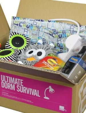 For those of you who may be sending a recent HS Grad off to College this Fall!! It's the Ultimate Dorm Survival Kit  - Grad Gifts - Gifts + Kits