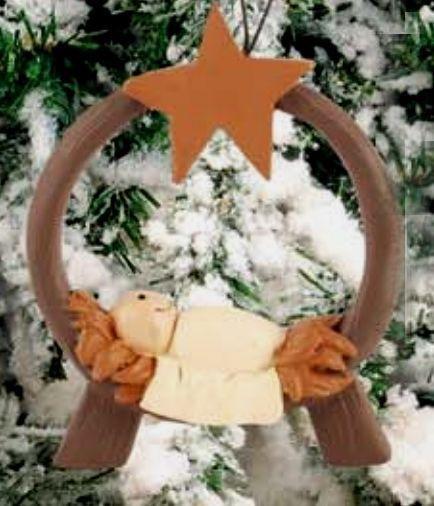 Blossom Bucket Baby Jesus with Star Ornament Christmas Decor, 3-3/4 ...