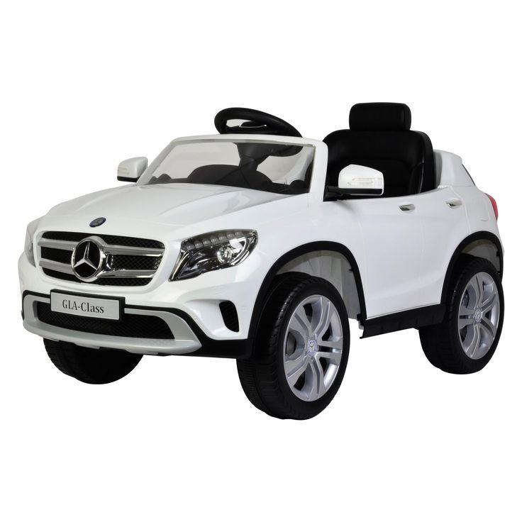 Best Ride on Cars Mercedes Motorized Toy - MERCEDES GLA 12V - BLUE