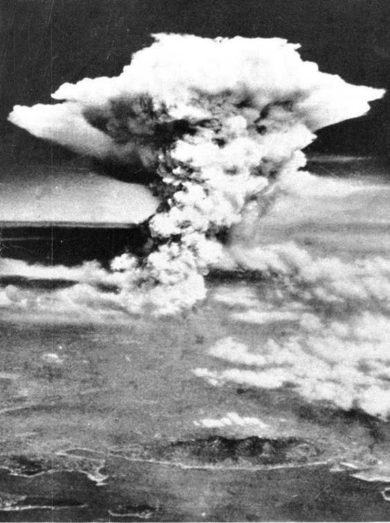 Atomic Bomb in Hiroshima, 1945 - It was the second atomic bomb ever and the