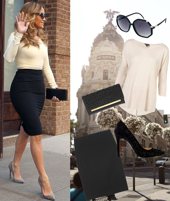 Our Favourite Winter Outfits For Work Chics The Outfit Jennifer Lopez And Best Christmas