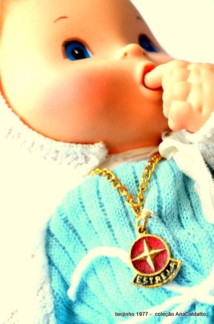boneco beijinho 1977 da Estrela