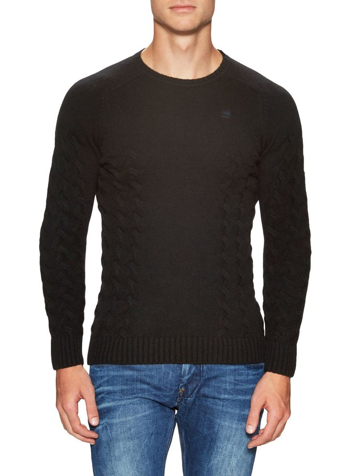 G-Star Tildo Cable Knit Sweater