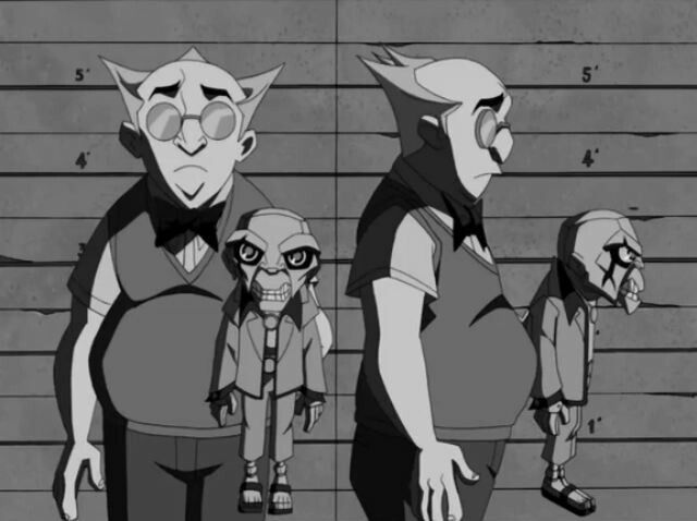 The Batman 2004 Villains