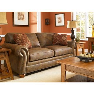 Shop for Broyhill Laramie Brown Suede Sofa. Get free shipping at Overstock.com - Your Online Furniture Outlet Store! Get 5% in rewards with Club O!