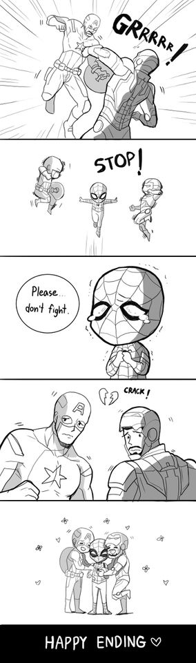 Maybe this is a reason why spidey appeared in cilvil War. Hahaha