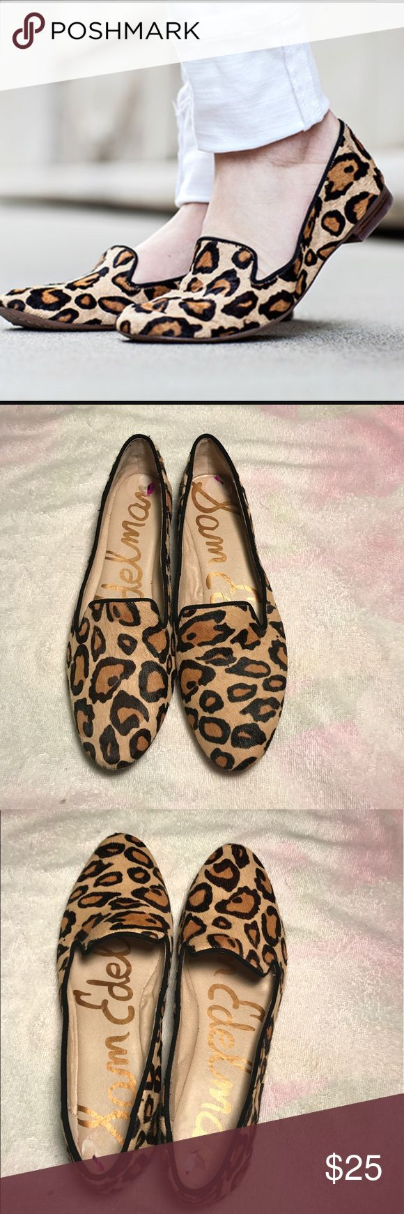 SAM EDELMAN ALVIN LEOPARD PRINT LOAFERS Used. Please see pictures Sam Edelman Shoes Flats & Loafers