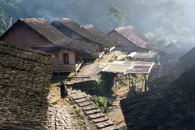 Dawn in Outer Baduy, Java, Indonesia by ValleyNinja, via Flickr