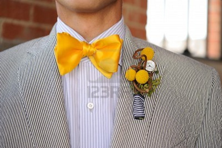 @Ivette Carrillo : Richard says he would like to see Matt in a searsucker suit for your wedding - Searsucker Suits with Bow Ties