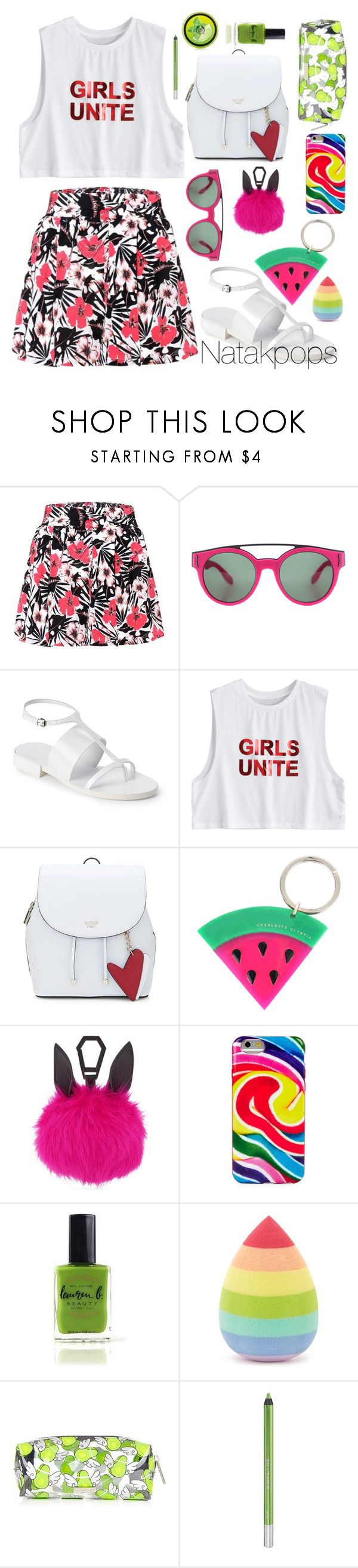 """Pretty girl"" by natakpops21 on Polyvore featuring moda, Etro, Givenchy, Jil Sander, Charlotte Olympia, Kendall + Kylie, Dylan's Candy Bar, Lauren B. Beauty, Forever 21 y Skinnydip"