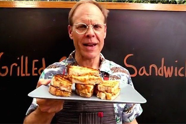 You're Making Grilled Cheese Sandwiches All Wrong And You Need To Stop Let Alton Brown show you the light.  Wow. Amaze. #grilledcheese