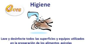 Higiene ... Inocuidad de los Alimentos Avícolas | Asociación de Avicultores de El Salvador