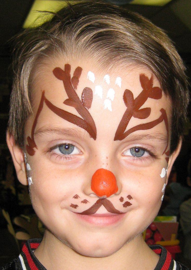 quick reindeer face